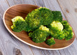 Crunchy Boiled Broccoli