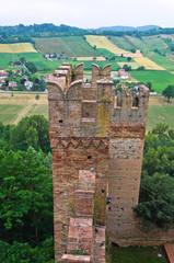 Castle of Castell'Arquato. Emilia-Romagna. Italy.