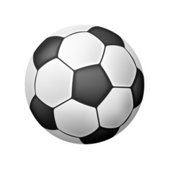 Isolated Realistic Soccer Ball