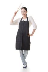 Asian housewife