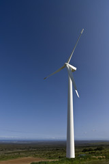 wind turbine making power