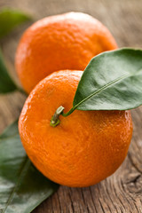 fresh mandarin