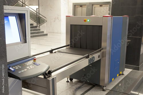 security x ray machine