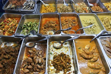 Thai cuisine - food buffet in Bangkok