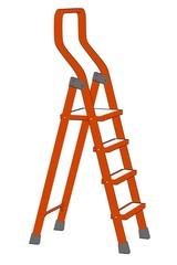 cartoon image of ladder tool