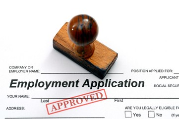 Employment application - approved
