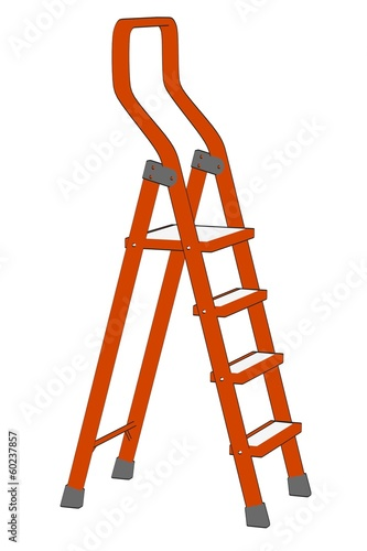 cartoon image of ladder tool