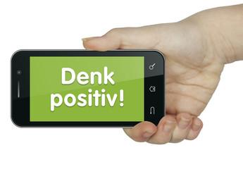 Denk positiv. Mobil