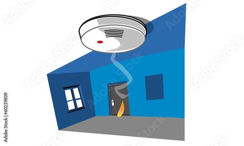 détecteur de fumée - 60239809