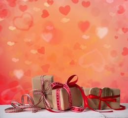 geschenke verpackung herzen