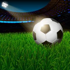 night soccer stadium