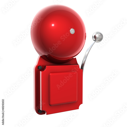 Leinwandbild Motiv Glocke Feueralarm - Single 2