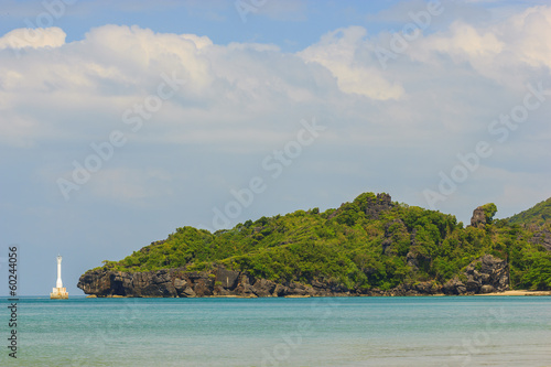 Amazing view of seaside at Tarutao island