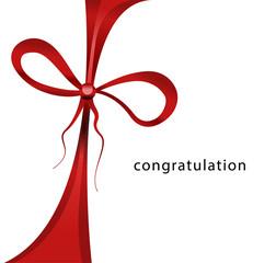 congratulation  ribbon