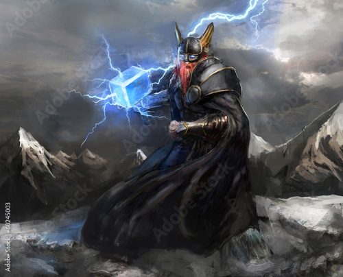 god of lightning thor - 60245003