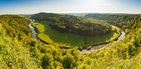 Idyllic landscape, River Wye