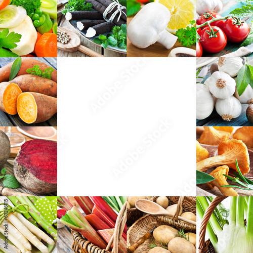 Gemüse und Kräuter - Vegetables