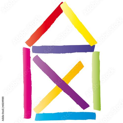 Haus strichzeichnung  GamesAgeddon - Ein Haus bauen, Eigentum schaffen - Strichzeichnung ...