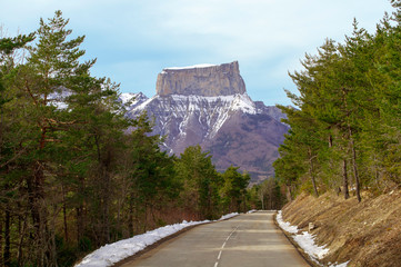 The Road to Mount Aiguille
