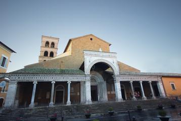 Civita Cathedral facade
