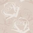 Obrazy na płótnie, fototapety, zdjęcia, fotoobrazy drukowane : Abstract Roses Pattern