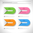 Infographics elements. Design template. Web layout