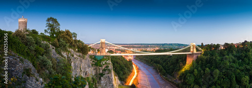 Poster Brug Clifton Suspension Bridge, UK