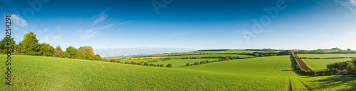 Idyllic rural landscape, Cotswolds UK - 60254298