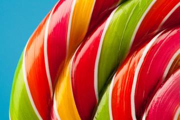 colorful lollipop candy backdrop