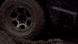 Wheel in the Mud. Slow Motion 240 fps
