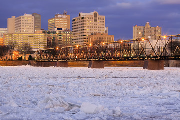 Breaking Ice at Harrisburg