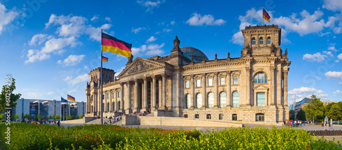 Foto op Aluminium Berlijn Reichstag, Berlin