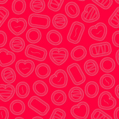 Valentine's Chocolate Background