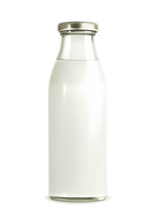 Milk bottle vector illustration