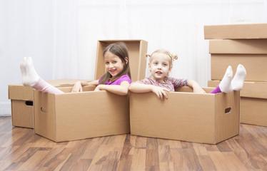 sisters in box