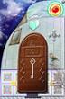 Fairytales door with key