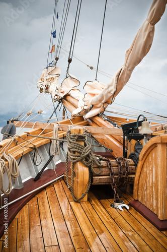 Keuken foto achterwand Schip yachting