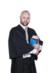 male attorney in robe