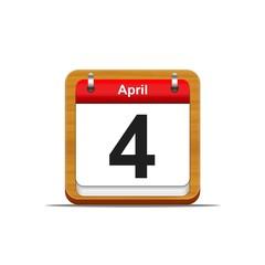 4 de abril.