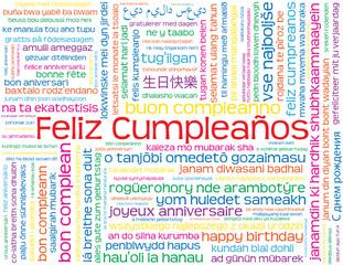 """Carta """"FELIZ CUMPLEAÑOS"""" (carta de cumpleaños enhorabuena)"""