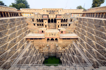 Chand Baori,step well in Abhaneri village,India