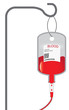 Concept of blood donation