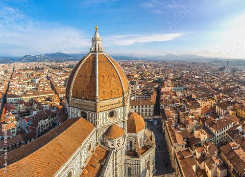 Zdjęcia na płótnie, fototapety na wymiar, obrazy na ścianę : Cathedral Santa Maria del Fiore in Florence, Italy