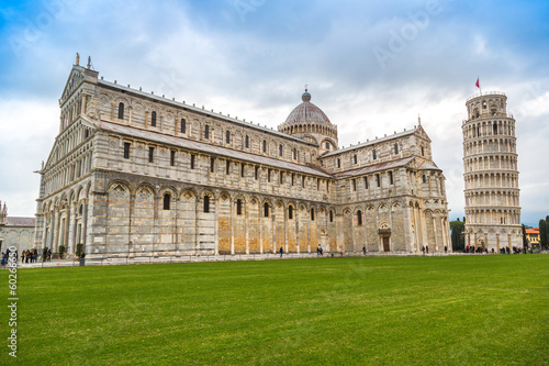 Cathedral and Leaning Tower of Pisa