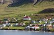 Tvøroyri, main town of Suduroy, Faroe Islands