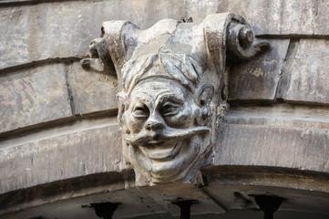 Gargoyle in Lviv, Ukraine