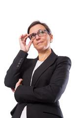Business Brunette Woman