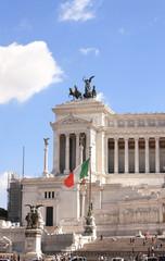 Vittorio Emanuele Monument on Piazza Venezia, Rome