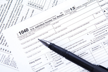 Official USA tax form