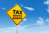 Tax advice concept